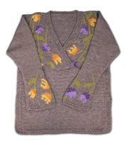 Tulips Design Sweater
