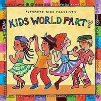 Kids World Party music cd