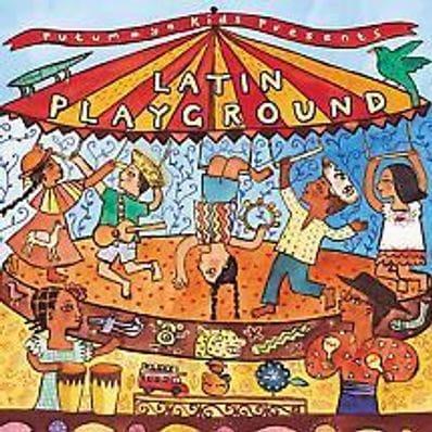 Latin Playground music cd