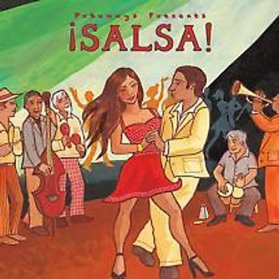 Salsa - music cd