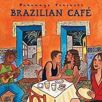 Brazilian café music cd