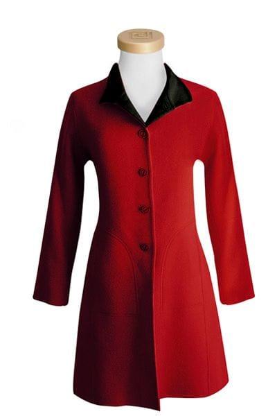 Fully Reversible Alpaca Coat