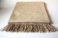 Classic Light Alpaca Throw