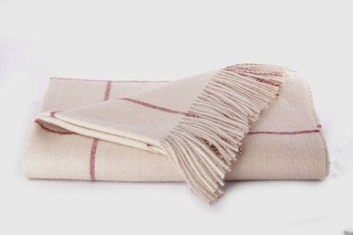 Classic baby alpaca throw  rug  avail in  different 10 colours