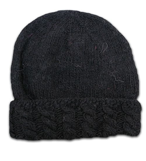 Alpaca Cable knit hat WAS<del>$38</del>