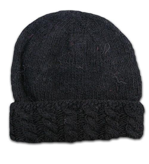 Alpaca Cable knit hat WAS<del>$38</del>