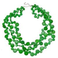 Green Smarties necklace