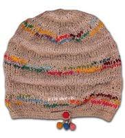 Linen mix  hat