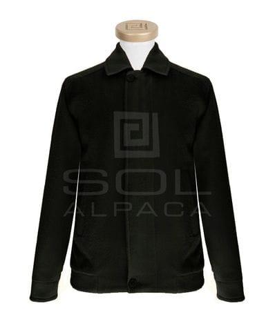 Men's Alpaca Bomber Jacket