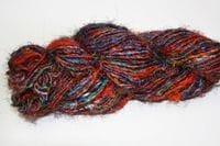 Recycled Sari Silk yarn 200g skein