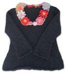 In Bloom Alpaca crochet pullover