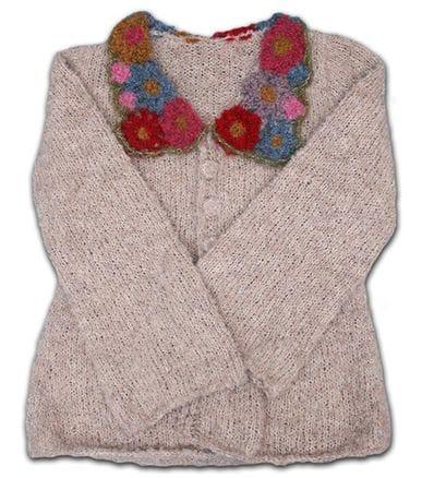 In Bloom Alpaca crochet cardigan