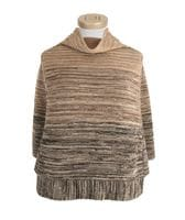 Striped Poncho