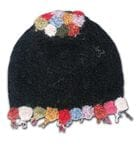 Dotted candy alpaca hat Order now