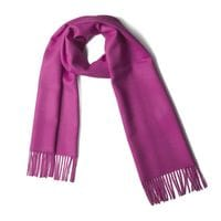 Dark Pink 100%  baby alpaca scarf
