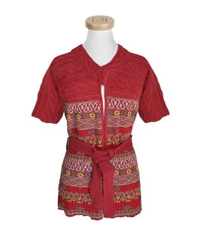 Alpaca Kimono Fitted Cardigan - xl only
