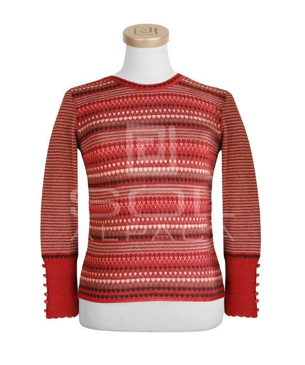 Alpaca Multi Color Special Stitch Pullover