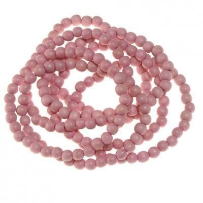 Champage pink beaded bracelet