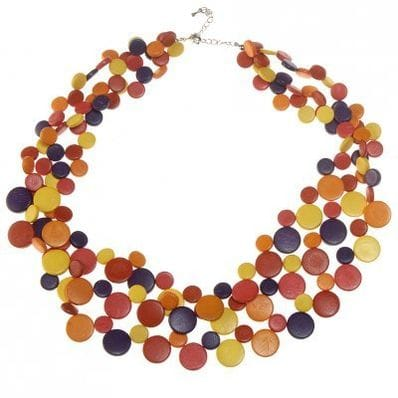 Carnival smarties necklace