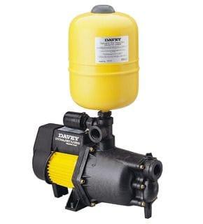how to change davey dynajet 70 pump pressure