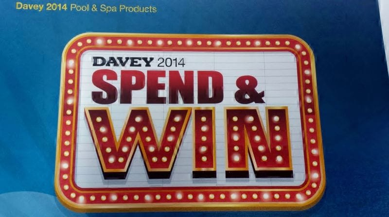 Davey 2014 Spend and Win Competition