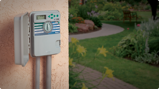 Irrigation controllers making watering your garden easy.