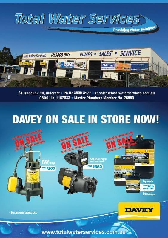 Davey Pumps Sale