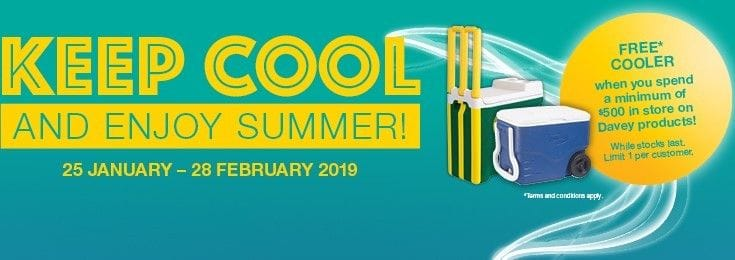 Davey Keep Cool Summer Promotion