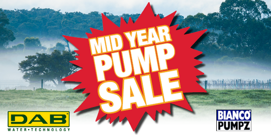DAB & Bianco Mid Year Pump Sale