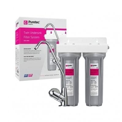 Puretec TW1 Twin Undersink Filter System