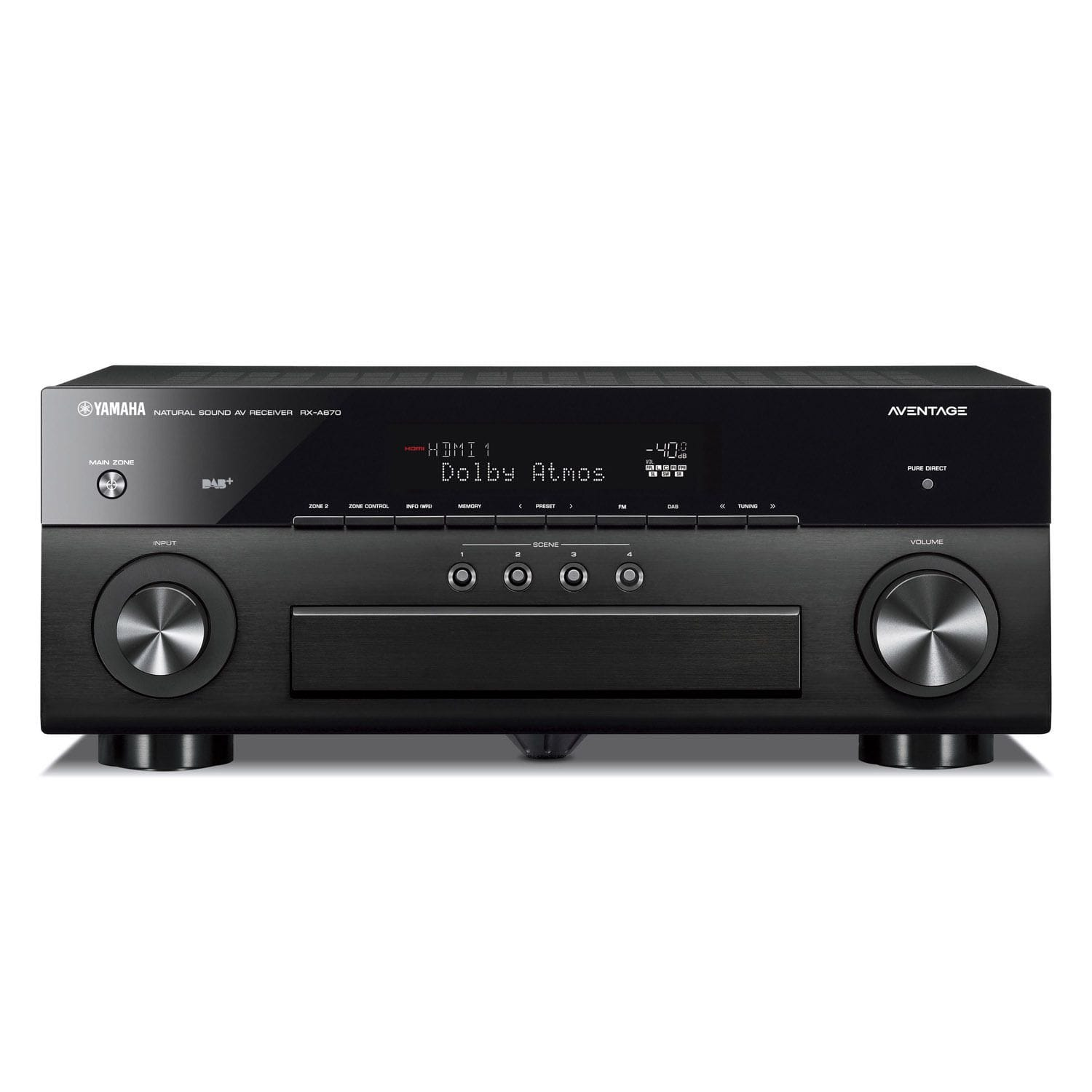 Yamaha AVENTAGE RX-A870 7.2 Channel AV Receiver
