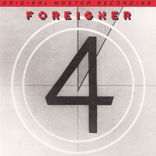 Foreigner - 4 GAIN 2 Ultra Analog 180g LP