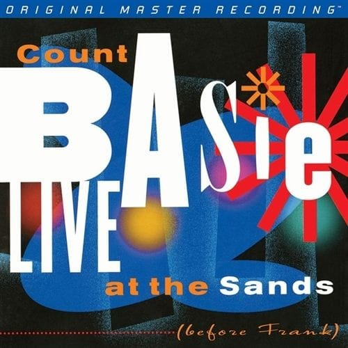 Count Basie - Live at the Sands; Before Frank GAIN 2 Ultra Analog 180g 2LP