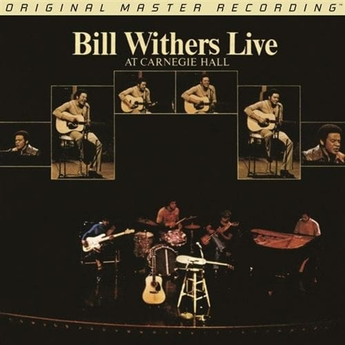 Bill Withers - Live at Carnegie Hall GAIN 2 Ultra Analog 180g 2LP