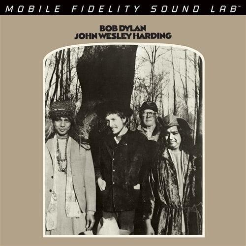 Bob Dylan - John Wesley Harding GAIN 2 Ultra Analog 180g 45rpm Mono 2LP