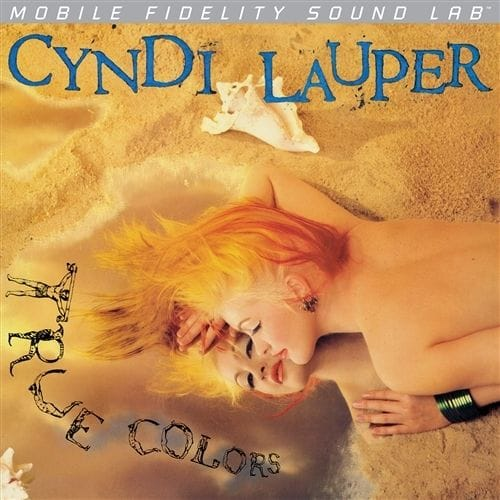 Cyndi Lauper - True Colors Silver Label LP