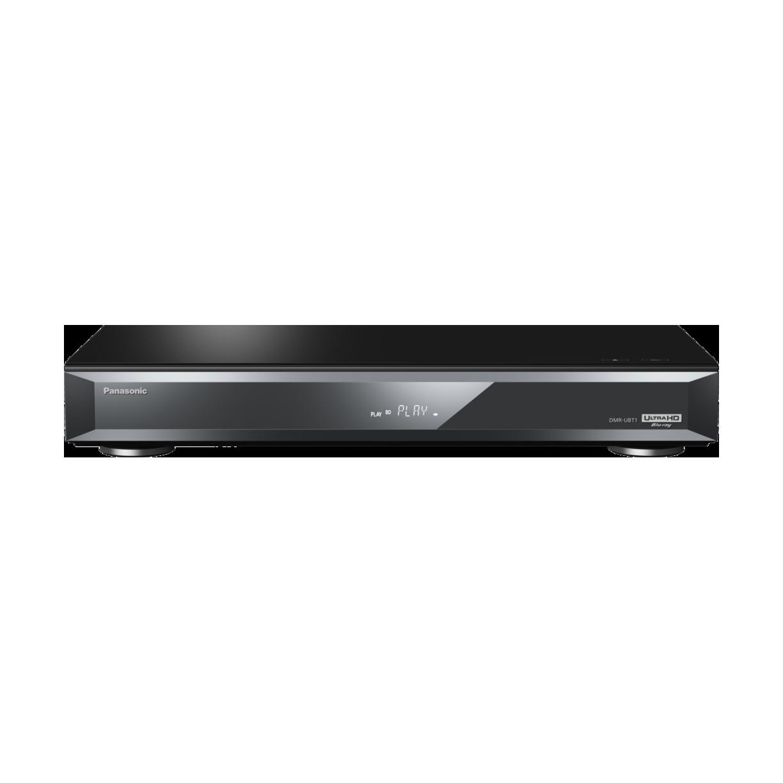 Panasonic DMR-UBT1GL-K UHD Player & HD Recorder