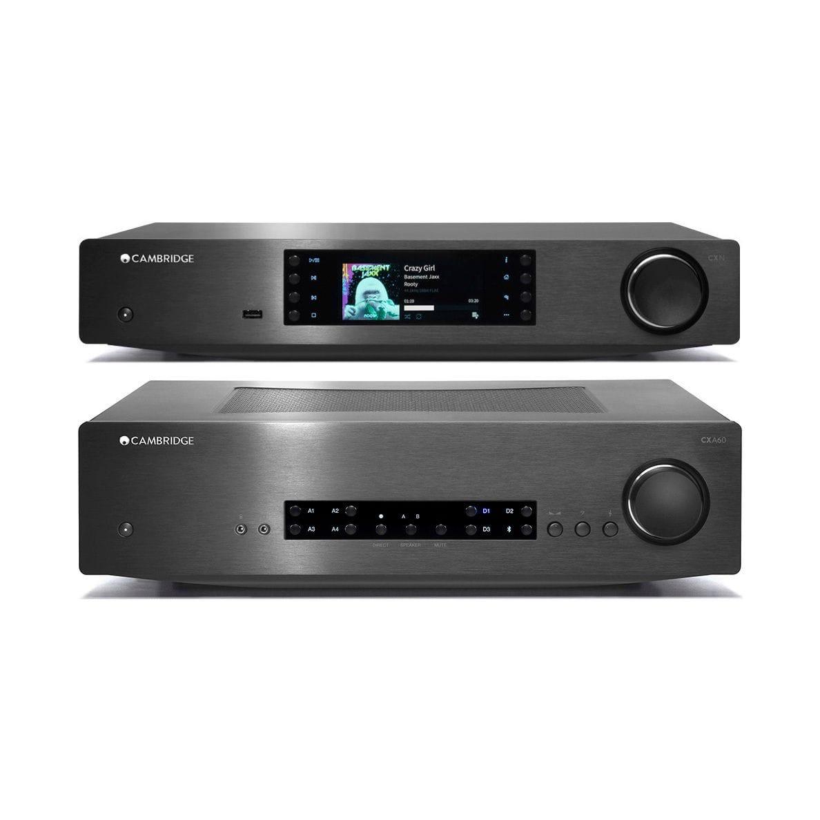 Cambridge Audio CXA60 Amplifier & CXN V2 Streamer Pack