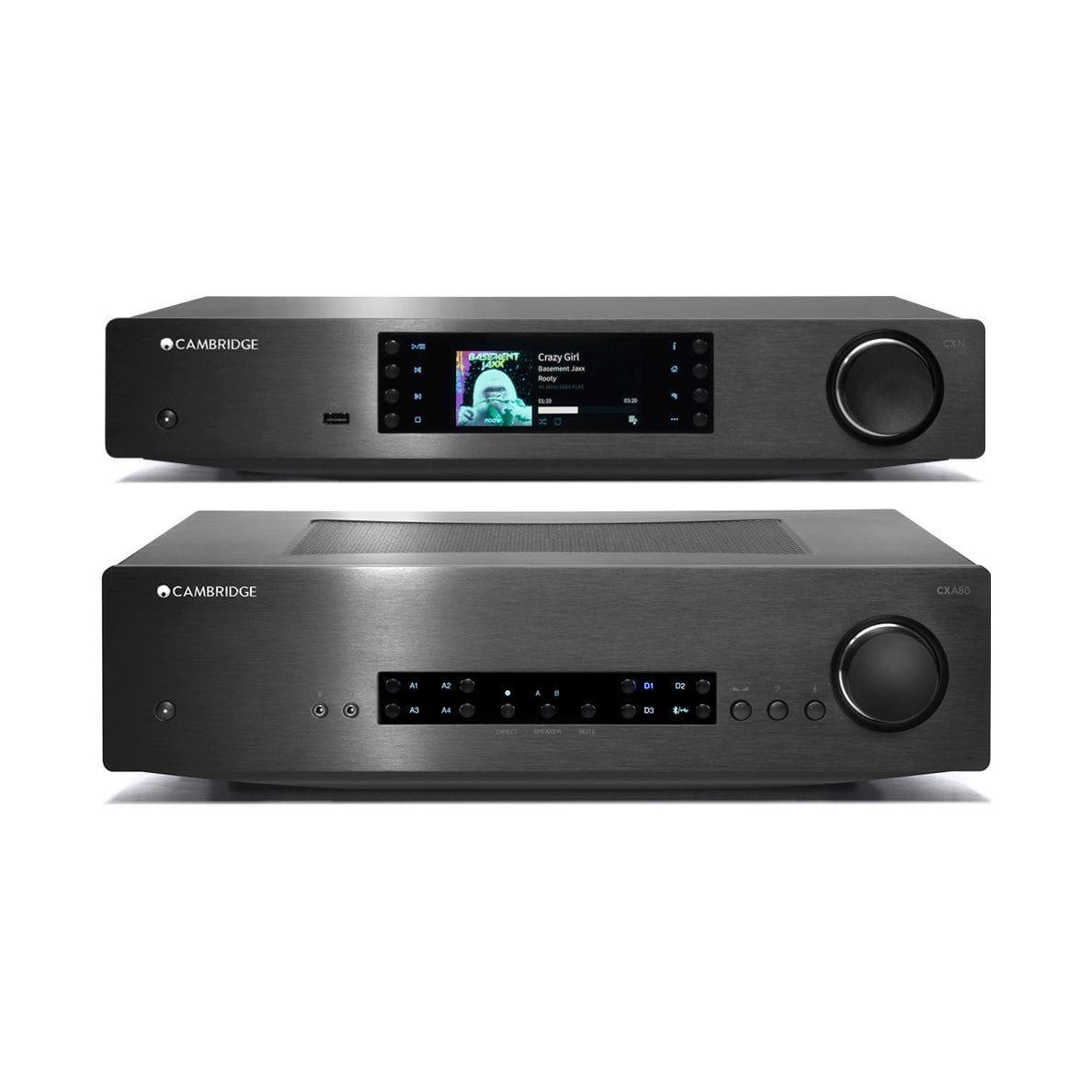 Cambridge Audio CXA80 Amplifier & CXN V2 Streamer Pack