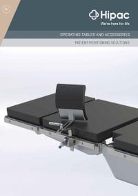 Operating Room Positioning Equipment and Clinical Furniture Catalogue