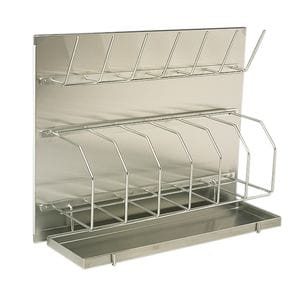 Bed Pan & Bottle Rack