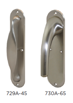 Narrow Back-Plate Handles