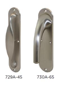 Narrow Back-Plate Handles