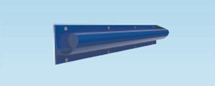 Contour Anti-Ligature Grab Rail 700mm Left Handed