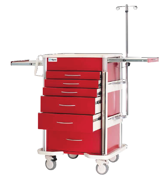 Select Series Emergency Cart and Accessory Package