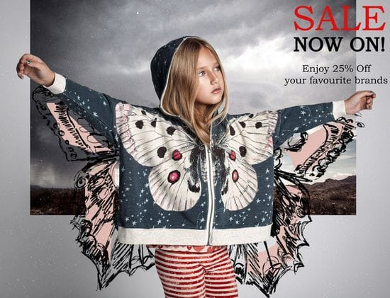 25% off ALL Kids Winter Clothing