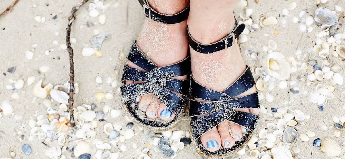 c863167360b7 Salt Water sandals have been cult classics in the States for over 70 years