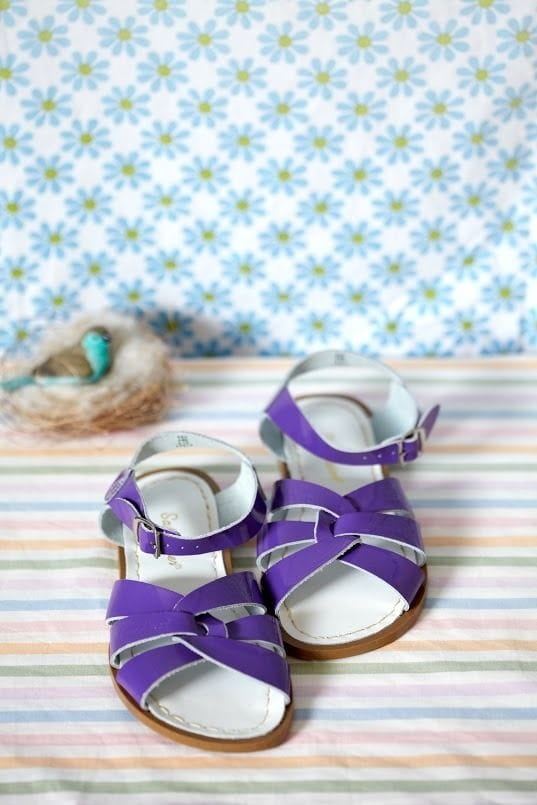 Saltwater Sandal - Purple