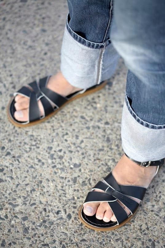 Saltwater Sandal - Black Adult