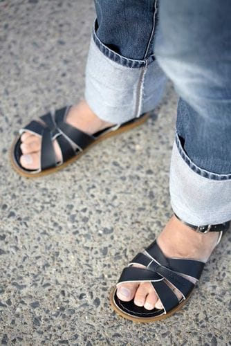 Saltwater Sandal - Black Adult